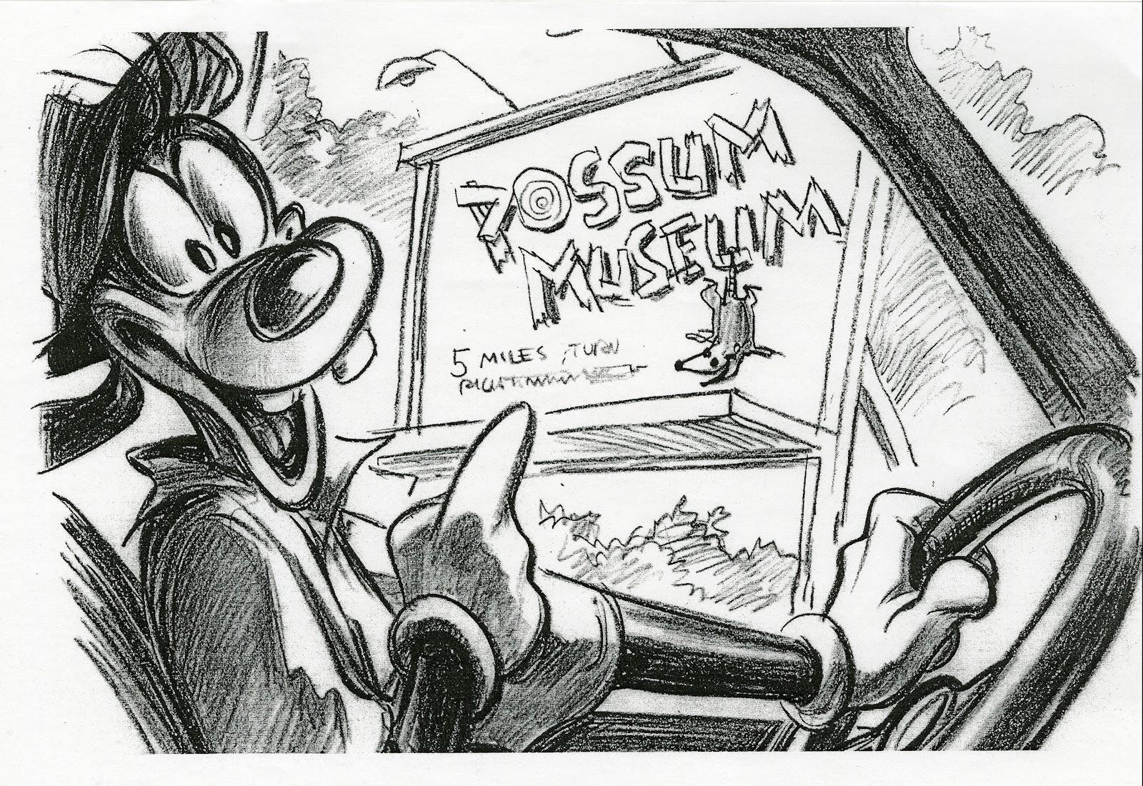 Disneyu0027s A Goofy Movie   Storyboard By Andy Gaskill   7