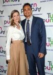 Hank Azaria & Katie Wright at Turn Around Children's Impact