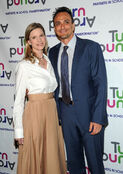 Hank Azaria & Katie Wright at Turn Around Children's Impact