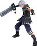 KHIII - Riku Battle Render