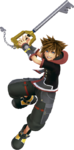 KHIII - Sora Battle Render