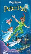 Peter pan 1993 Australian VHS
