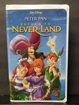 Return to Never Land VHS