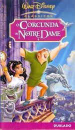 The Hunchback of Notre Dame 2002 Brazil VHS
