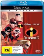 The Incredibles 2011 AUS VHS