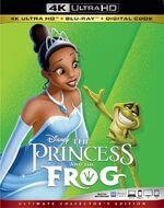 The Princess and the Frog 4KUHD Blu-ray