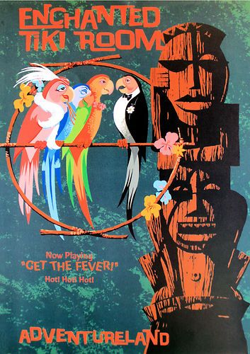 The Enchanted Tiki Room Get The Fever Disney Wiki