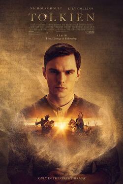 Tolkien film promotional poster
