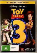 Toy Story 3 2010 AUS DVD + Blu Ray
