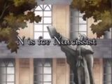 N is for Narcissist