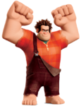 Wreck it Ralph pose transparent