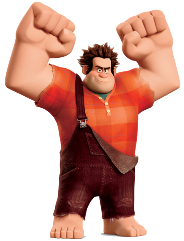 File:Wreck it Ralph pose transparent.png