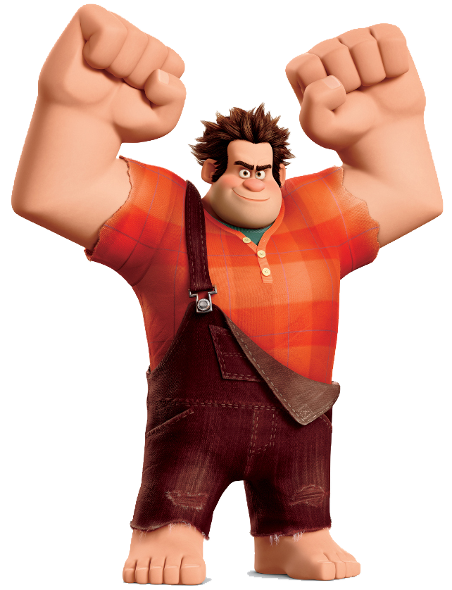 Wreck it Ralph pose transparent.png