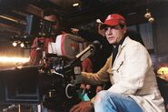 Bill Paxton filming Greatest Game Ever Played