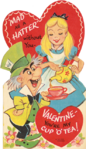 Hatter and alice valentine tri-fold 640