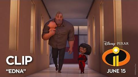"Incredibles 2 Clip - ""Edna"""