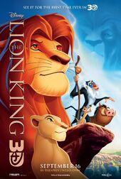 Lion King 3D poster