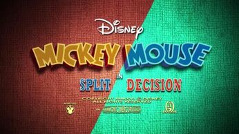 Mickey Mouse Slit Decisions Title Card