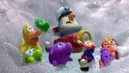 Partysaurus Rex bath toys