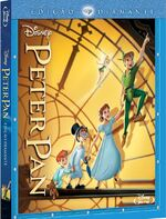 Peter Pan 2013 Brazil Blu-Ray