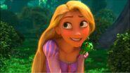 Rapunzel smiling