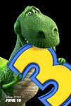 Toy Story 3 - Rex - Poster