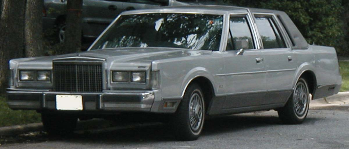 Image 1985 Lincoln Town Car Jpg Disney Wiki Fandom Powered By