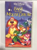 Basil the Great Mouse Detective 1994 AUS VHS
