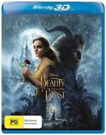 Beauty and the Beast Live Action 2017 AUS Blu Ray 3D