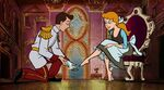 Charming and Cinderella in Mickey Mouse