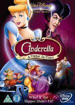 Cinderella A Twist in Time UK DVD