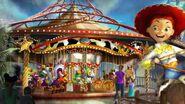 Critter Carousel Concept Art
