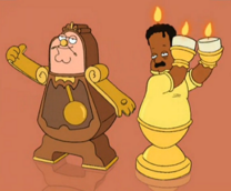 DinDon-Lumiere referencia 'FamilyGuy'