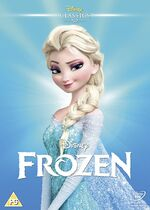 Frozen UK DVD 2014 Limited Edition slip cover
