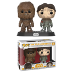Han Solo and Chewbacca Solo POP 2-Pack