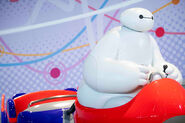 Happy Ride with Baymax Vehicle First Image