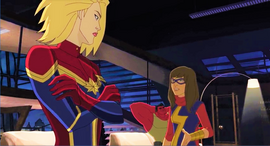 Kamala Khan n Captain Marvel AUR 1