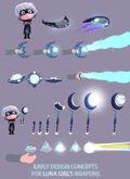 Luna Girl concept art