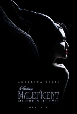 Maleficent Mistress of Evil teaser poster.JPG