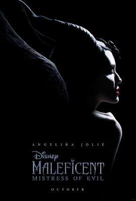 Maleficent Mistress of Evil teaser poster.JPG