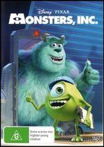 Monsters Inc 2013 AUS DVD