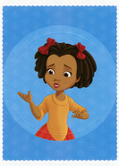 Panini Sticker Card - Ruby