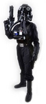 TIE Pilot full body