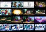 The Princess and the Protector storyboard 1