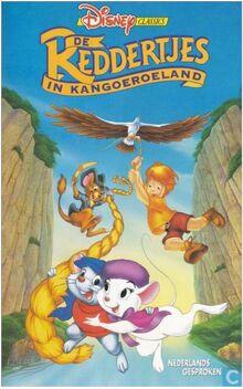 The Rescuers Down Under 1992 Dutch VHS