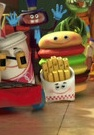 Toy Story 3 Sunnyside Toys - Hamburger,Fries and Cup