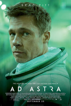 Ad Astra Poster with Crdit list