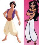 Aladdin in jasmine's body