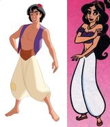 Aladdin in jasmine's body
