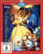 Beauty and the Beast 2011 Germany 3D Blu-Ray